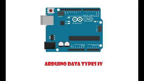 ArduinoData-Types