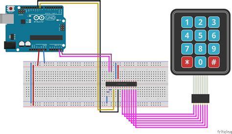 ArduinoI2C-Keypad
