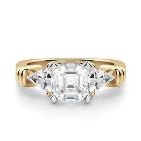 Asscher-CutDiamond-Ring