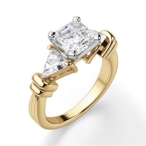AsscherCut-Engagement-Rings