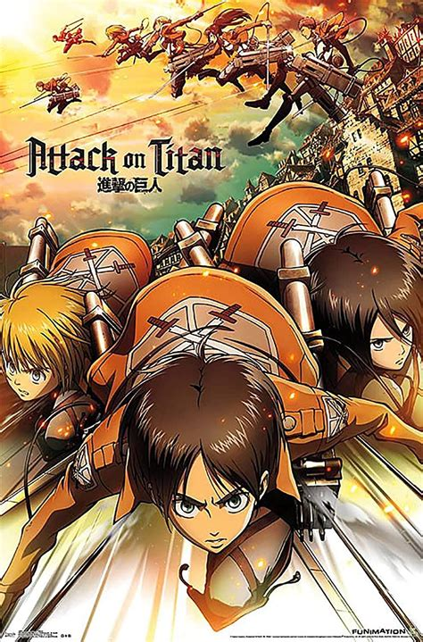 Attack on Titan Poster Print, | Watches Store Online Reviews