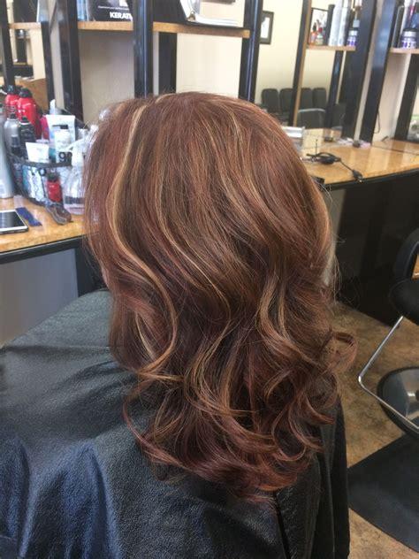 Auburn-Hairwith-Lowlights