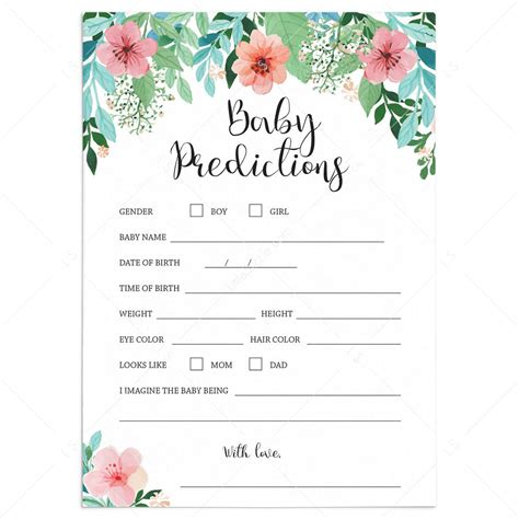 Baby-Shower-Prediction-Cards