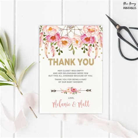 Baby-Shower-Thank-You-Card-Template