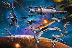 Babylon 5 Battle Scenes
