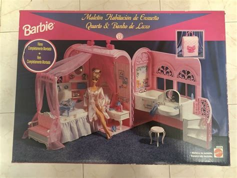 Barbie Very Rare 1998 Bed & Bath bedding ~ sheets and pillow accessories! | Gps Store
