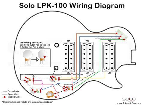 Basic-ElectricGuitar-Wiring-Diagrams