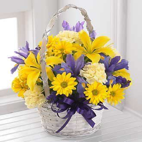 Beautiful-FlowerBasket