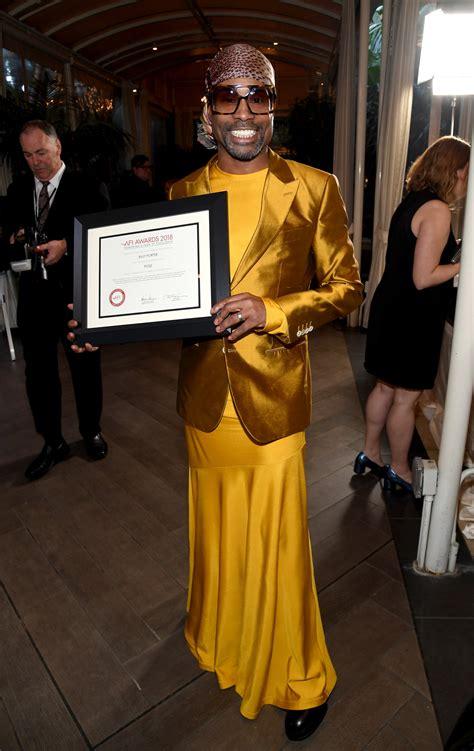 Billy Porter Yellow Dress