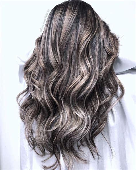 Black-HairSilver-Highlights
