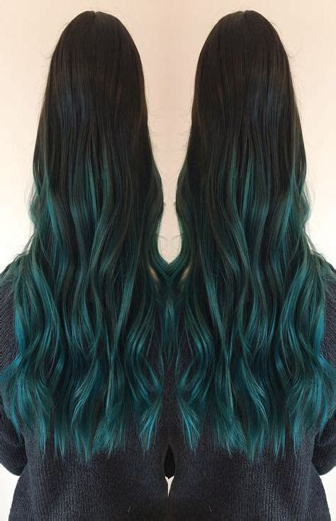 Blue-Balayage