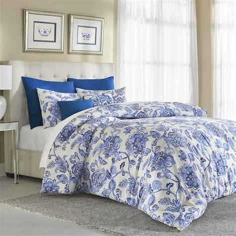 Blue-FloralSheet-Sets