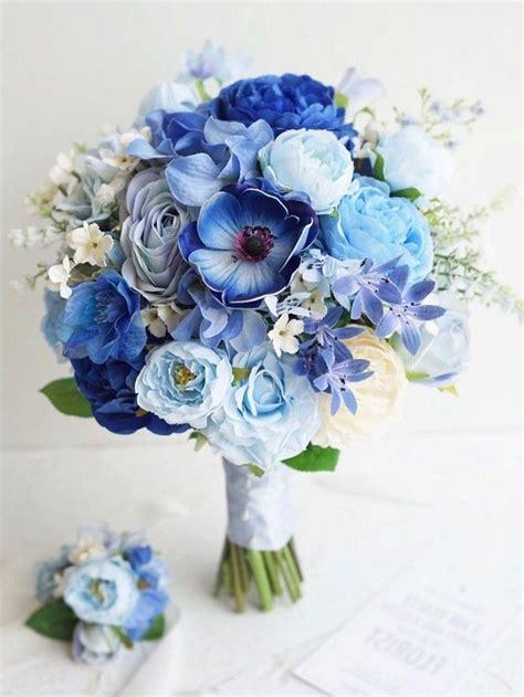 BlueFlower-Bouquet