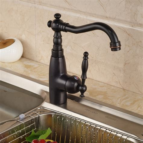 Brass Deck Mounted Black Mixer Kitchen Sink Faucet Swivel Spout Tap With Bidet | Watches Store Online Reviews