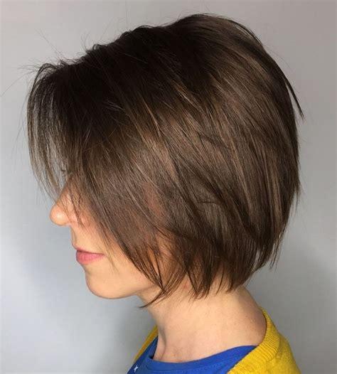 Brown-Short-Hairstylesfor-Fine-Hair