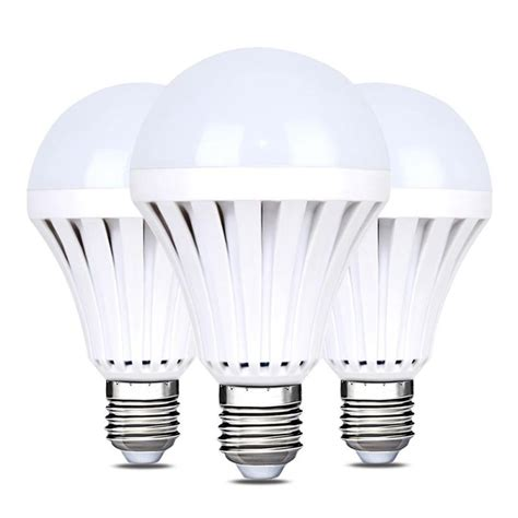 Bulb E27 5W 12W Rechargeable Emergency | Watches Store Online Reviews