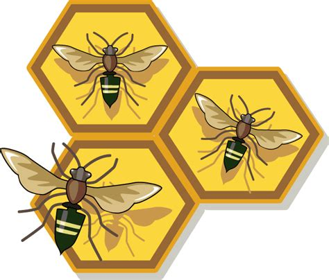 Bumble-Bee-withFlower-Clip-Art