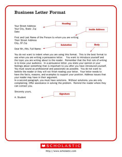 Business-Letter-TemplatePrintable