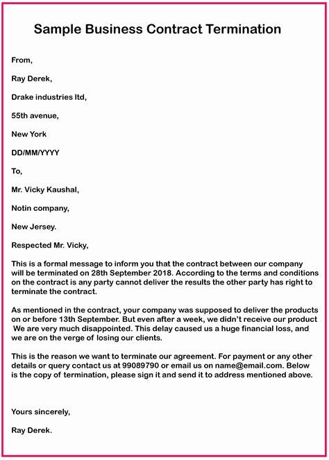 BusinessContract-Termination-Letter