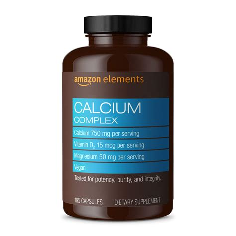 Calcium Complex, 195 Capsules, SEALED, | Watches Store Online Reviews