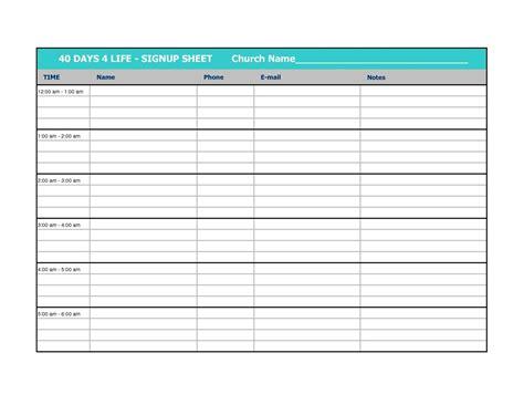 CalendarSign-Up-Sheet-Template