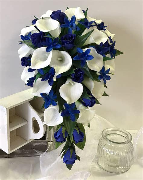 Calla-Lily-Wedding-BouquetsBlue