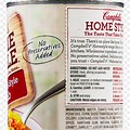 Campbell's Soup Education