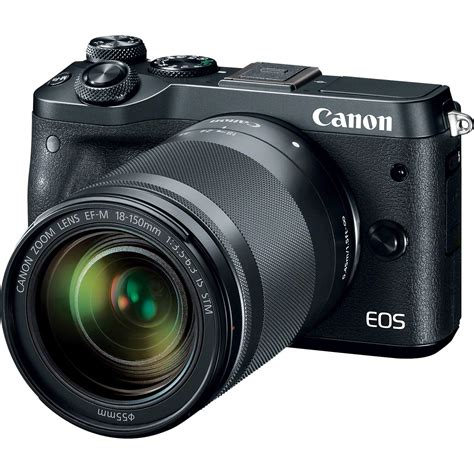 Canon EOS M6 Mirrorless Digital Camera (Body Only, Silver) 1725C001 | Digital Cameras