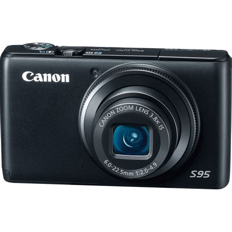 Canon Power Shot S95 Digital Camera with charger Black | Digital Cameras
