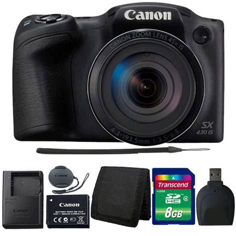 Canon PowerShot SX430 IS Digital SLR Camera (Black) | Digital Cameras