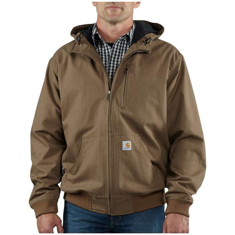 Carhartt Brown Insulated Coat Jacket Work Wear Size 4XL | Gps Store