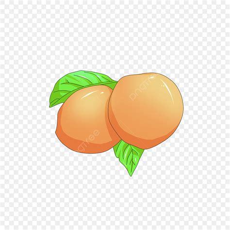 Cartoon Juicy Peach
