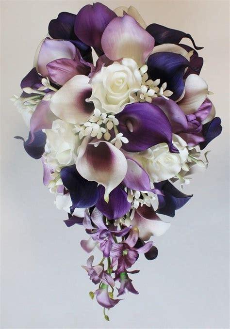 CascadingCalla-Lily-Bouquet