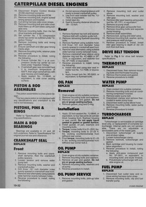 Cat-3126-Torque-SpecSheet