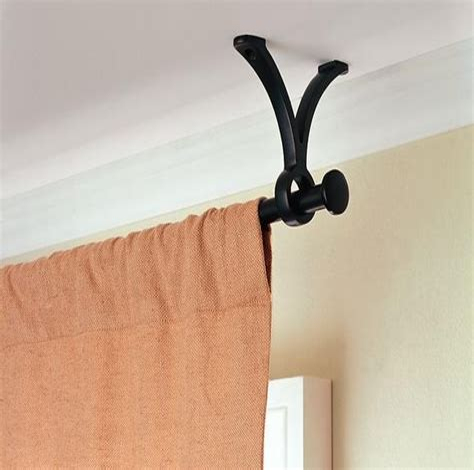 Ceiling-Curtain-RodBrackets