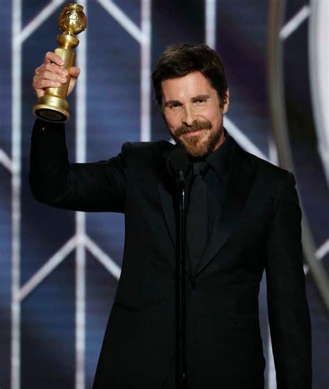 Christian Bale Golden Globes
