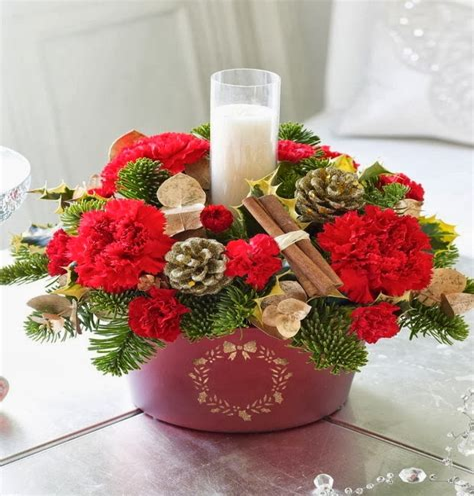 Christmas-FlowerDecorations
