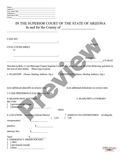 Civil-ComplaintCover-Sheet