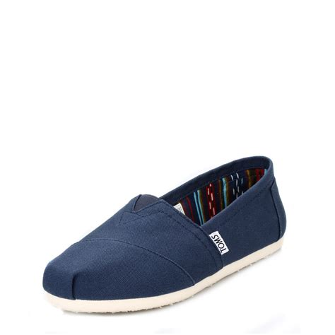 Classic Canvas Slip Flats Shoes | Gps Store
