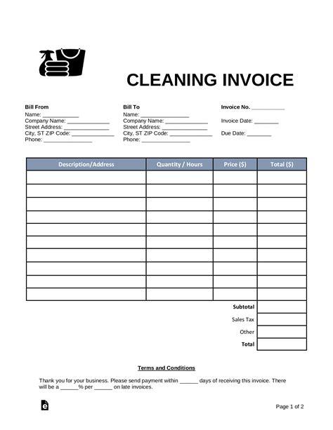 CleaningInvoice-Template