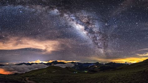 Colorful High Resolution Milky Way