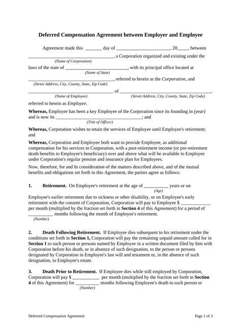 CompensationAgreement-Template