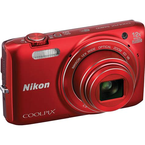 Coolpix S6800 Digital Camera Nikon 16mp wifi 12x zoom valentine\'s gift vacation | Digital Cameras