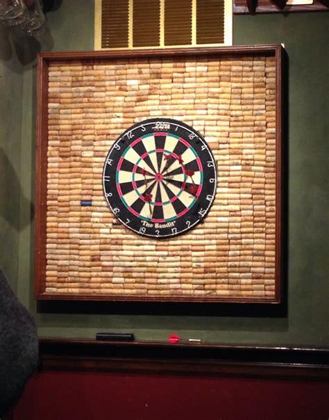 Cork-WallDart-Board