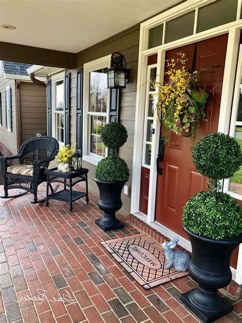 Country Front Porch Decorating Ideas