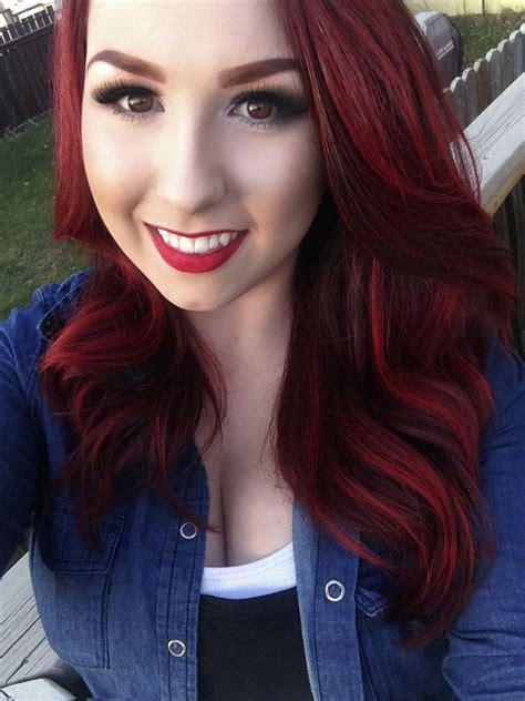 CrimsonRed-Hair