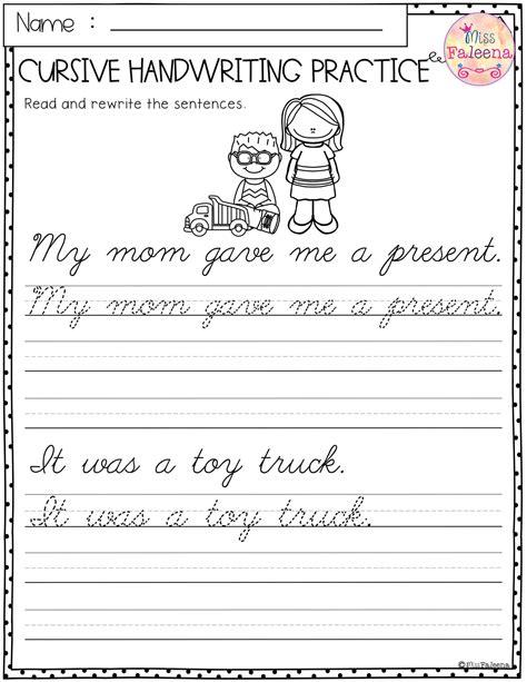 Cursive-Writing-Practice-SheetsSentences