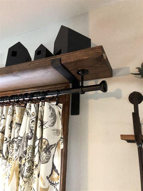 Curtain-Rodwith-Shelf