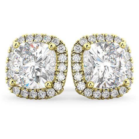 Cushion-Cut-Diamond-Earrings