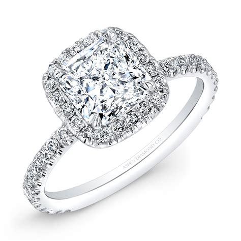 Cushion-CutHalo-Diamond-Ring